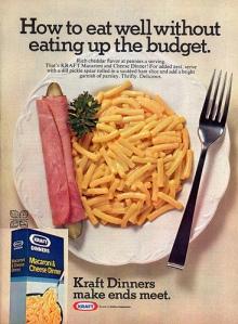 1976 Kraft Dinner Ad
