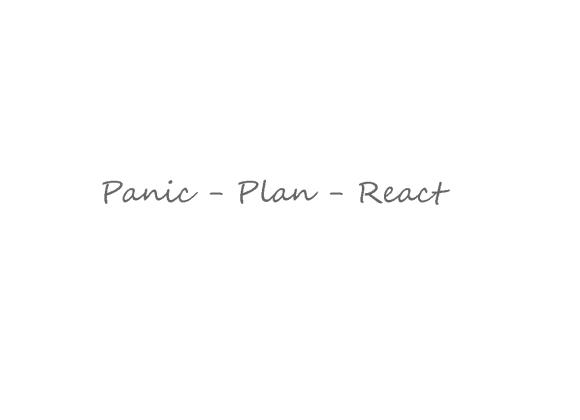 Panic plan react